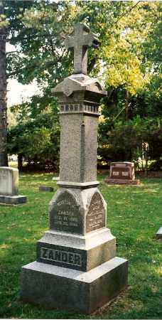 ZANDER, MARTIN J. - Ross County, Ohio | MARTIN J. ZANDER - Ohio Gravestone Photos