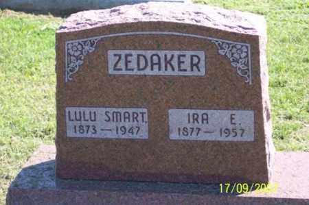 SMART ZEDAKER, LULU - Ross County, Ohio | LULU SMART ZEDAKER - Ohio Gravestone Photos