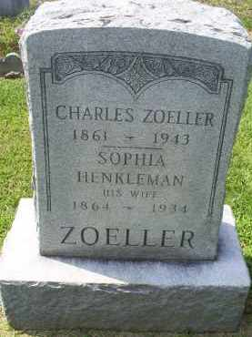 ZOELLER, SOPHIA - Ross County, Ohio | SOPHIA ZOELLER - Ohio Gravestone Photos