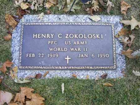 ZOKOLOSKI, HENRY C. - Ross County, Ohio   HENRY C. ZOKOLOSKI - Ohio Gravestone Photos