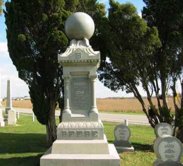 BEEBE, AZARIAH - Sandusky County, Ohio | AZARIAH BEEBE - Ohio Gravestone Photos