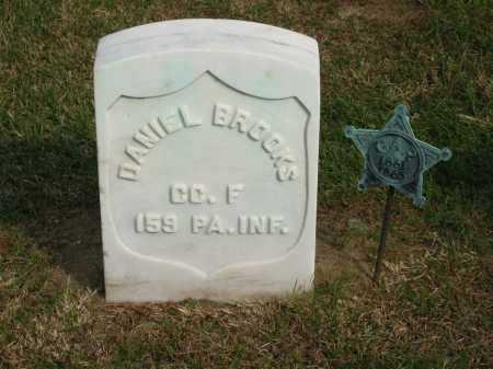 BROOKS, DANIEL - Sandusky County, Ohio | DANIEL BROOKS - Ohio Gravestone Photos