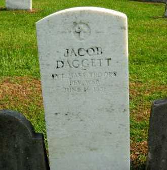DAGGETT, JACOB - Sandusky County, Ohio | JACOB DAGGETT - Ohio Gravestone Photos