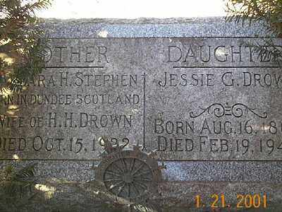 DROWN, BARBARA HELEN - Sandusky County, Ohio | BARBARA HELEN DROWN - Ohio Gravestone Photos
