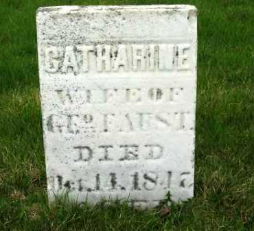 FAUST, GEO. - Sandusky County, Ohio | GEO. FAUST - Ohio Gravestone Photos