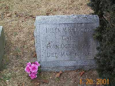 GALE, HELEN MYRTLE - Sandusky County, Ohio   HELEN MYRTLE GALE - Ohio Gravestone Photos