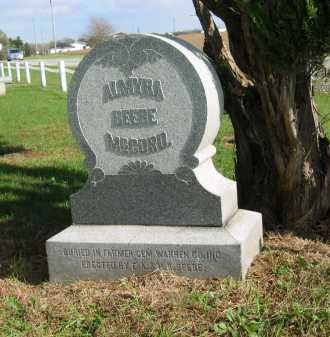 MCCORD, ALMYRA - Sandusky County, Ohio | ALMYRA MCCORD - Ohio Gravestone Photos