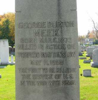 MEEK, GEORGE BURTON - Sandusky County, Ohio   GEORGE BURTON MEEK - Ohio Gravestone Photos