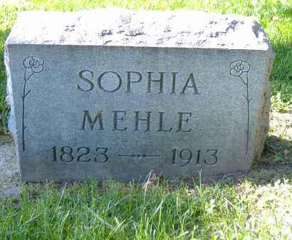 MEHLE, SOPHIA - Sandusky County, Ohio | SOPHIA MEHLE - Ohio Gravestone Photos