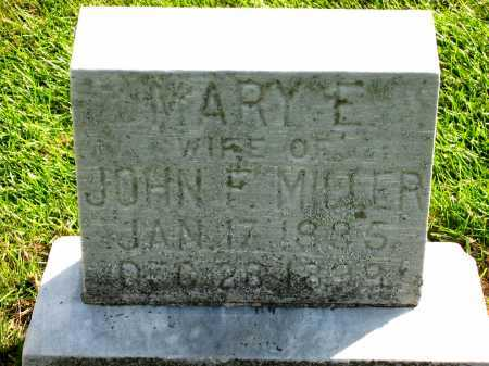 MILLER, JOHN F. - Sandusky County, Ohio | JOHN F. MILLER - Ohio Gravestone Photos