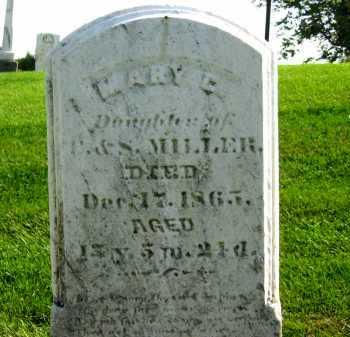 MILLER, C. - Sandusky County, Ohio | C. MILLER - Ohio Gravestone Photos