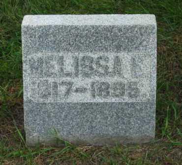 MILLER, MELISSA E. - Sandusky County, Ohio | MELISSA E. MILLER - Ohio Gravestone Photos