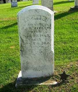 MILLER, OLIVER C. - Sandusky County, Ohio | OLIVER C. MILLER - Ohio Gravestone Photos