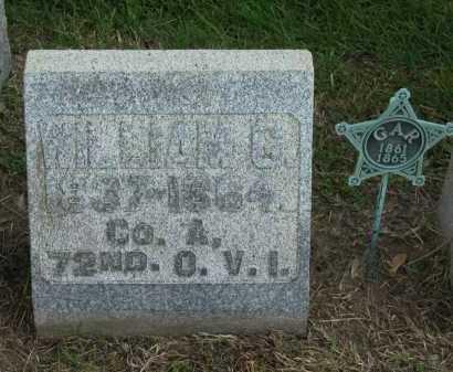 MILLER, WILLIAM G. - Sandusky County, Ohio   WILLIAM G. MILLER - Ohio Gravestone Photos