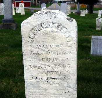 OLMSTEAD, SARAH E. - Sandusky County, Ohio   SARAH E. OLMSTEAD - Ohio Gravestone Photos