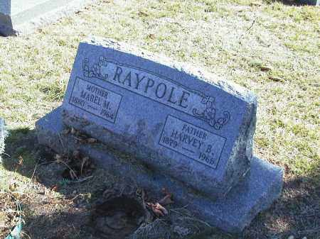 RAYPOLE, MABEL M - Sandusky County, Ohio | MABEL M RAYPOLE - Ohio Gravestone Photos