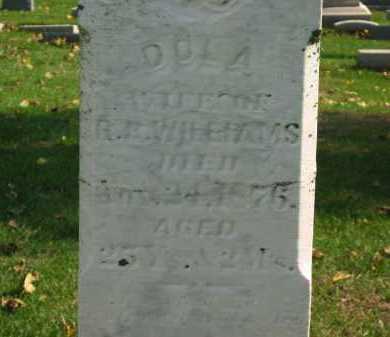 WILLIAMS, DOLA - Sandusky County, Ohio | DOLA WILLIAMS - Ohio Gravestone Photos