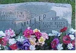 MILLER, CHARLES W. - Scioto County, Ohio   CHARLES W. MILLER - Ohio Gravestone Photos
