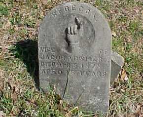 ABSHER, REBECCA - Scioto County, Ohio | REBECCA ABSHER - Ohio Gravestone Photos