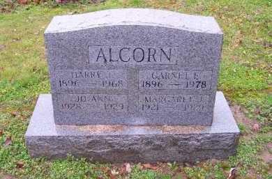 ALCORN, MARGARET J. - Scioto County, Ohio | MARGARET J. ALCORN - Ohio Gravestone Photos