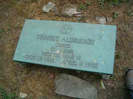 ALDRIDGE, ERNEST - Scioto County, Ohio   ERNEST ALDRIDGE - Ohio Gravestone Photos