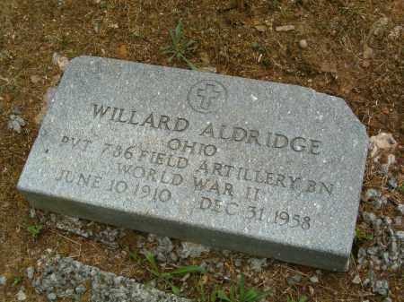 ALDRIDGE, WILLARD - Scioto County, Ohio   WILLARD ALDRIDGE - Ohio Gravestone Photos