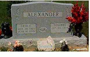 ALEXANDER, GENE C. - Scioto County, Ohio | GENE C. ALEXANDER - Ohio Gravestone Photos