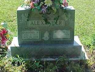 HIBBS ALEXANDER, DOROTHY A. - Scioto County, Ohio | DOROTHY A. HIBBS ALEXANDER - Ohio Gravestone Photos