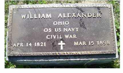 ALEXANDER, WILLIAM - Scioto County, Ohio | WILLIAM ALEXANDER - Ohio Gravestone Photos