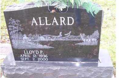 ALLARD, LLOYD P. - Scioto County, Ohio | LLOYD P. ALLARD - Ohio Gravestone Photos