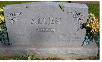 ALLEN, PAUL E. - Scioto County, Ohio | PAUL E. ALLEN - Ohio Gravestone Photos