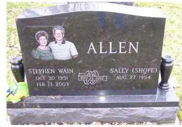 SHOPE ALLEN, SALLY - Scioto County, Ohio | SALLY SHOPE ALLEN - Ohio Gravestone Photos