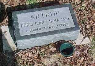 ARTRUP, DORIS JEAN - Scioto County, Ohio   DORIS JEAN ARTRUP - Ohio Gravestone Photos