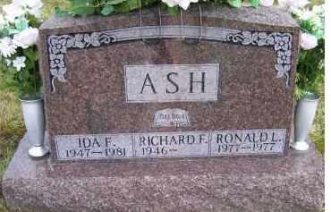 ASH, RONALD L. - Scioto County, Ohio | RONALD L. ASH - Ohio Gravestone Photos