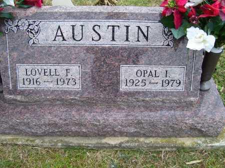 AUSTIN, OPAL I. - Scioto County, Ohio | OPAL I. AUSTIN - Ohio Gravestone Photos