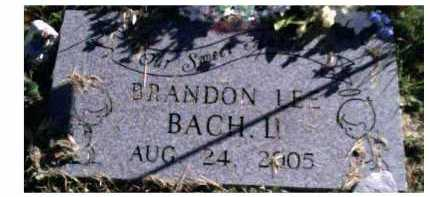 BACH, BRANDON LEE - Scioto County, Ohio | BRANDON LEE BACH - Ohio Gravestone Photos
