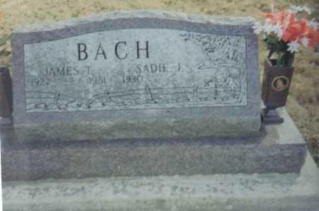 BACH, SADIE J. - Scioto County, Ohio | SADIE J. BACH - Ohio Gravestone Photos