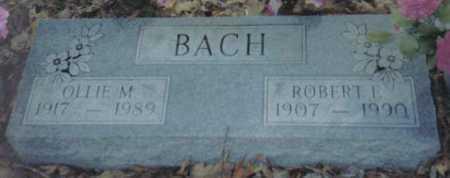 BACH, ROBERT E. - Scioto County, Ohio | ROBERT E. BACH - Ohio Gravestone Photos