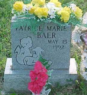 BAER, PATRICE MARIE - Scioto County, Ohio   PATRICE MARIE BAER - Ohio Gravestone Photos