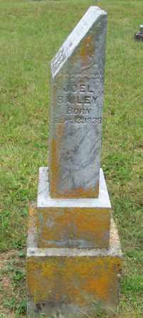 BAILEY, JOEL - Scioto County, Ohio   JOEL BAILEY - Ohio Gravestone Photos