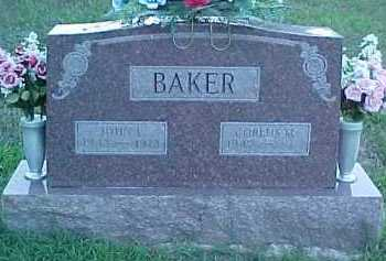 BAKER, CORLUS M. - Scioto County, Ohio | CORLUS M. BAKER - Ohio Gravestone Photos