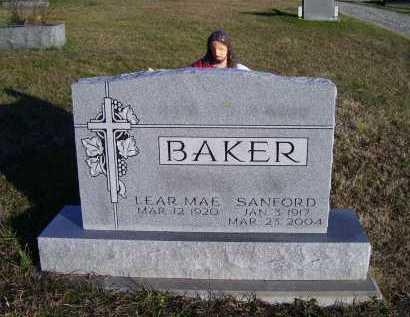 BAKER, SANFORD - Scioto County, Ohio   SANFORD BAKER - Ohio Gravestone Photos