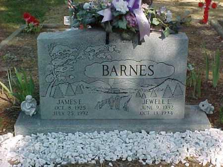 BARNES, JEWELL E. - Scioto County, Ohio   JEWELL E. BARNES - Ohio Gravestone Photos
