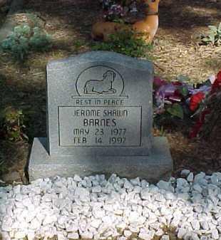 BARNES, JEROME SHAWN - Scioto County, Ohio | JEROME SHAWN BARNES - Ohio Gravestone Photos