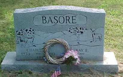 BASORE, CHARLES - Scioto County, Ohio | CHARLES BASORE - Ohio Gravestone Photos