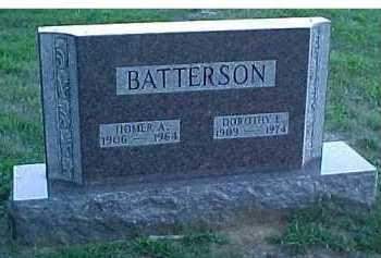 BATTERSON, HOMER A. - Scioto County, Ohio | HOMER A. BATTERSON - Ohio Gravestone Photos