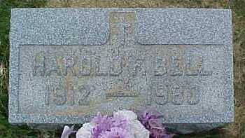 BELL, HAROLD F. - Scioto County, Ohio   HAROLD F. BELL - Ohio Gravestone Photos