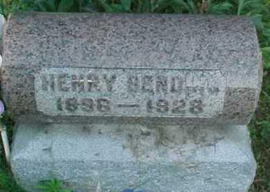 BENDING, HENRY - Scioto County, Ohio   HENRY BENDING - Ohio Gravestone Photos