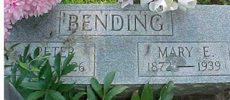 BENDING, PETER - Scioto County, Ohio | PETER BENDING - Ohio Gravestone Photos