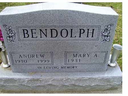 BENDOLPH, MARY A. - Scioto County, Ohio   MARY A. BENDOLPH - Ohio Gravestone Photos
